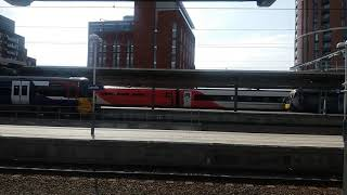 Class 170 arriving at Leeds
