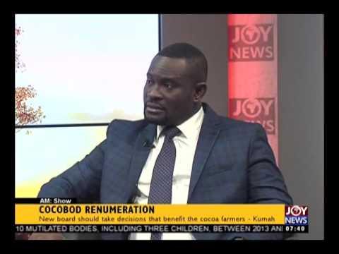 COCOBOD Renumeration - AM Show on Joy News (29-3-17)