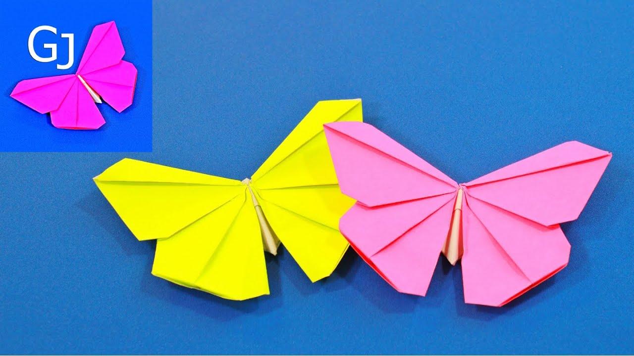 Оригами из бумаги бабочка схема для начинающих фото 918