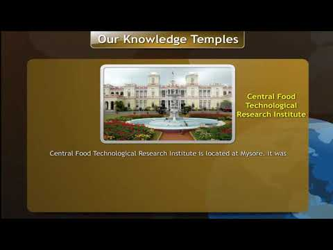 Central Food Technological Research Insititute   ||  Science