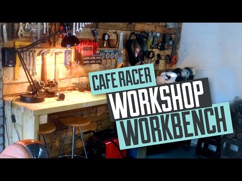 Building a bench for a Cafe Racer workshop