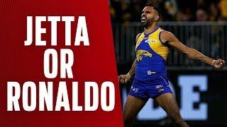 Jetta or Cristiano Ronaldo? | Qualifying Final, 2018 | AFL