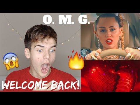 Miley Cyrus & Mark Ronson - Nothing Breaks Like a Heart (REACTION!)