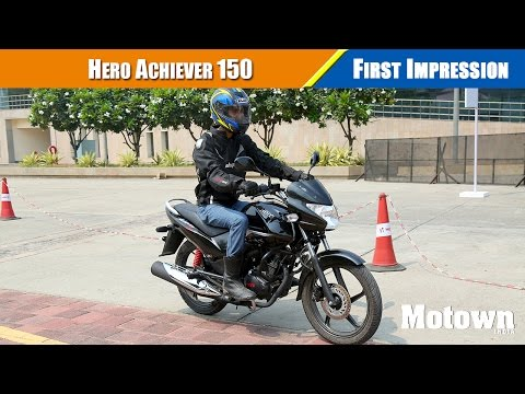 Hero Achiever 150cc First Impressions