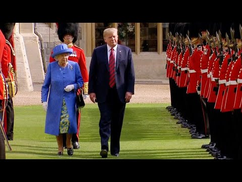 Did Queen Elizabeth Send a Hidden Message to President Trump With Her Jewelry?
