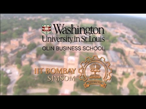 WashU and IIT Bombay Announce Joint EMBA Program