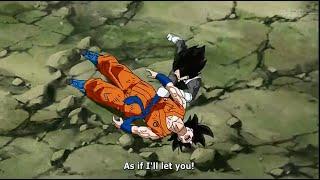 DB:Super (ep.27) Vegeta kicks Goku to save & sorbet die