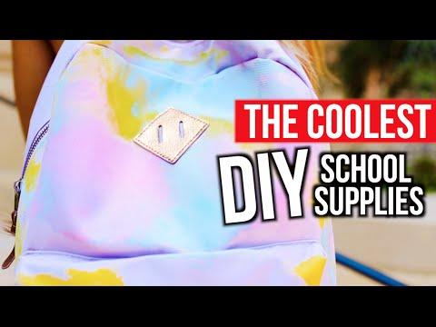 THE COOLEST DIY SCHOOL SUPPLIES | MyLifeAsEva