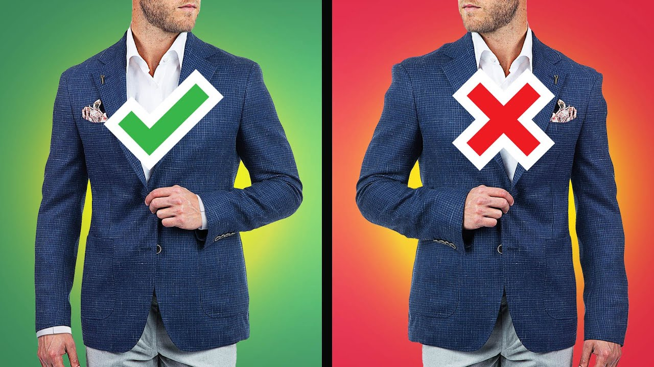 How To Buy The PERFECT Sports Jacket (4 Simple Steps)