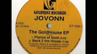 Jovonn - Pianos Of Gold (1993)