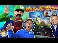 Download MIKE'S BIRTHDAY SURPRISE from MARIO BROS!  New Gaming Setup! (FUNnel Fam Luigi Vision)