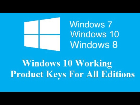 Free Product Key For Activation of Windows & MS Office All Versions