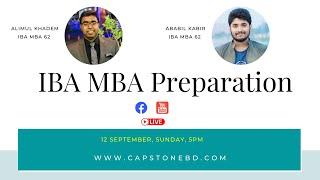 IBA MBA Admission Preparation