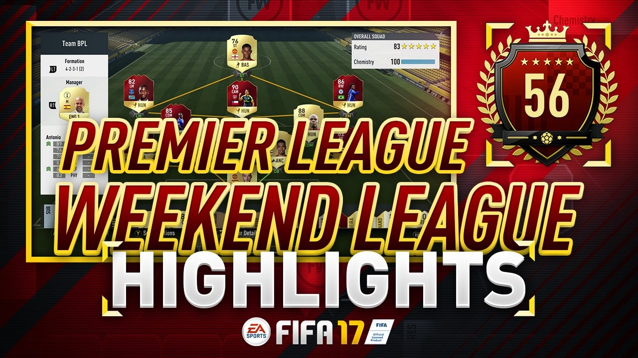 FUTWIZ TY - PRO PLAYER FUT CHAMPIONS HIGHLIGHTS! FEB WEEK #3 - FIFA 17