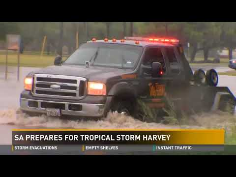 San Antonio prepares for Tropical Storm Harvey