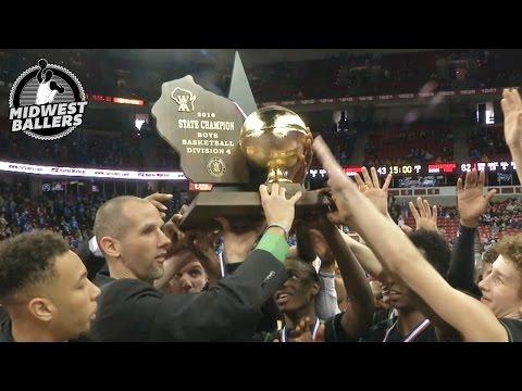 WIAA Boys Championship - Midwest Ballers High School Basketball Recap - Week 17