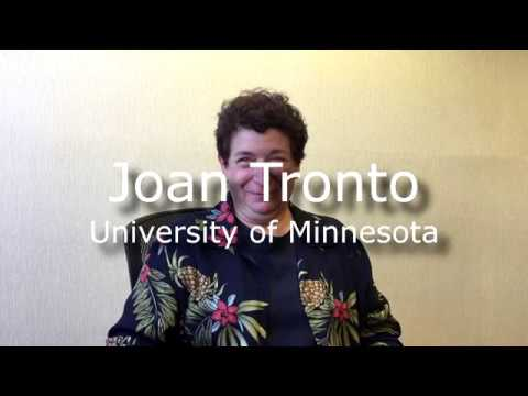 Interview Joan Tronto,  CERC conference 2018