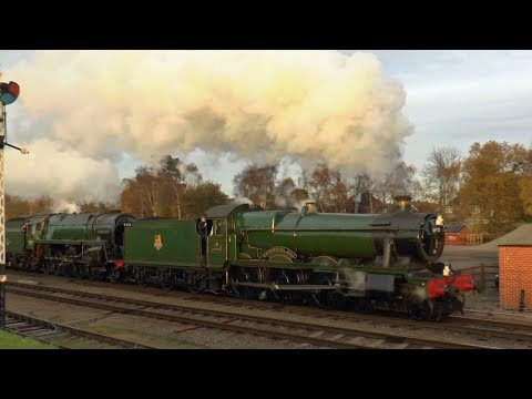 SUNDAY AT THE GREAT CENTRAL RAILWAY 'LAST HURRAH' 2017