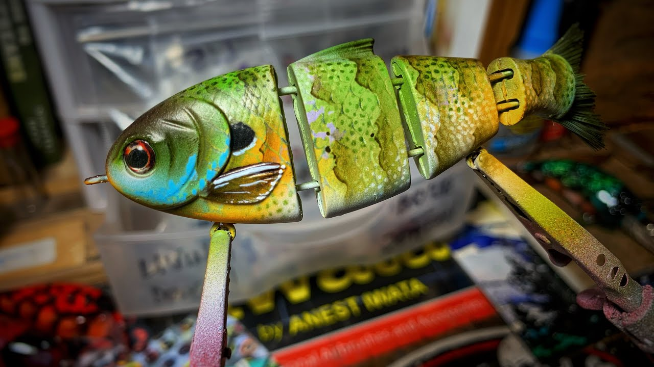 Monday In The SHOP! Baby Bull Shad Repaint, Subscriber Shoutout and MORE!