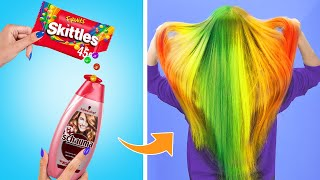 10 Funny Skittles Pranks and Life Hacks