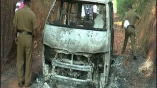 Probe into charred bodies in van handed over to CID