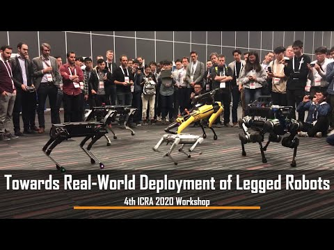State-of-the-art Legged Robots at the 4th ICRA 2020 Workshop in Paris (Teaser)