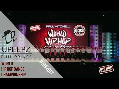 UPEEPZ - PHILIPPINES   GOLD MEDALIST MEGACREW DIVISION   HHI 2017 WORLD FINALS