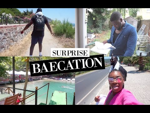 BAECATION PART 1: SURPRISING BAE & FINDING OUT MY UNI RESULTS | TURKEY 2017!!!