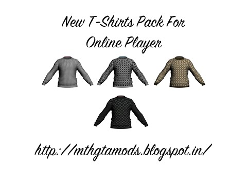 GTA SA:How to make new clothes for Franklin/Trevor/Michael/Online Player (secret revealed ;-)