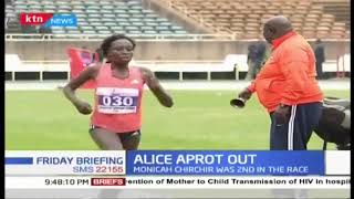 Alice Aprot out Africa games to be held in Morrocco