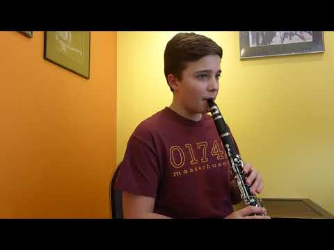 Kristof  March Student of the Month @ Music Maker School in Acton, MA