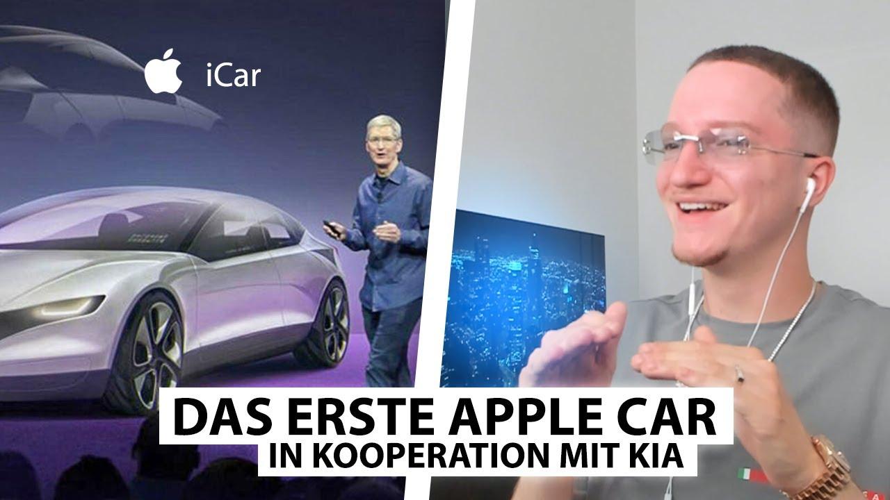 Justin reagiert auf das unglaubliche Auto von Apple! 🏎️ | Reaktion