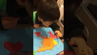 くもん 世界地図パズル thumbnail