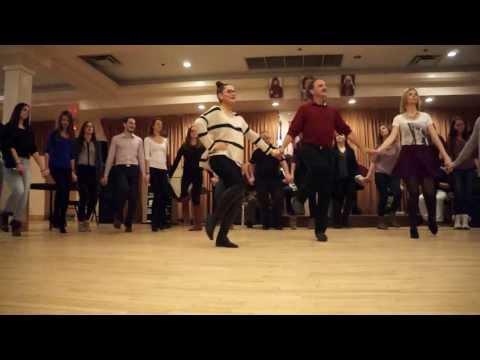 Serbian Folk Dance in Montreal - žikino kolo (2) • Cрпске народне игре