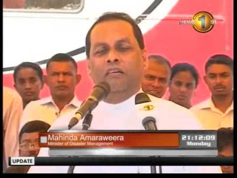 mtvsports newsfirst - Speaking about CHOGM in every village because of Sirasa - Mahinda Amaraweera