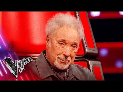 Stevie Wonder Surprises Sir Tom Jones!   Blind Auditions   The Voice UK 2021