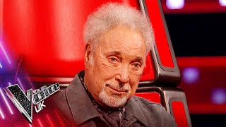 Stevie Wonder Surprises Sir Tom Jones! | Blind Auditions | The Voice UK 2021