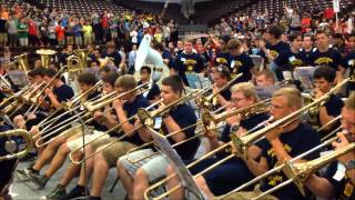 Repeat youtube video Seven Nation Army - Buckeye Boys State Band (2015)