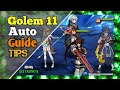 EPIC SEVEN Golem 11 Auto Team [Sol Badguy Achates Ken Haste] Gameplay Epic 7 F2P Alt (Guide & Tips)