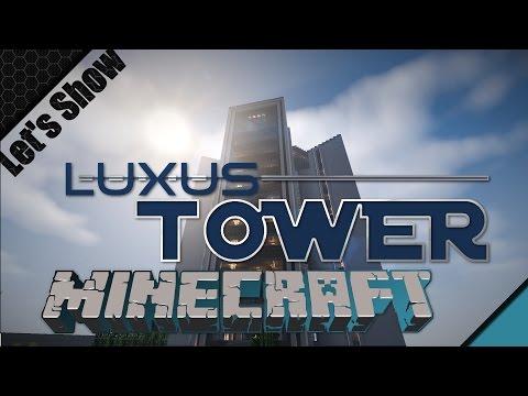 "Luxus Tower mit ""Penthousewohnung"" | Minecraft Let's Show #006 [HD 1080p60]"