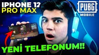 IPHONE 12 PRO MAX ALDIM!!! (PUBG MOBILE TESTİ)