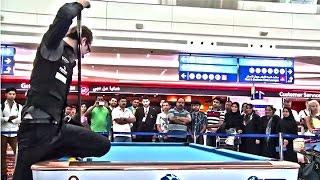 Venom Trickshots at Dubai International Airport