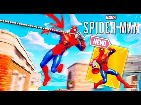 SKIN DE *SPIDERMAN* EN FORTNITE !! (REAL) INCREIBLE !! Makigames