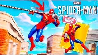 *SPIDERMAN* SKIN IN FORTNITE !! (REAL) Incredible!! Makigames