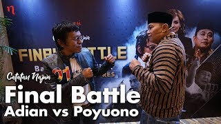 Nobar Debat Pilpres: Bawa Asyik Politik - Final Battle Adian vs Poyuono (Part 1)   Catatan Najwa