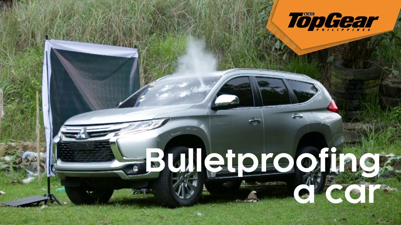 This is how you turn an ordinary vehicle into a bulletproof car