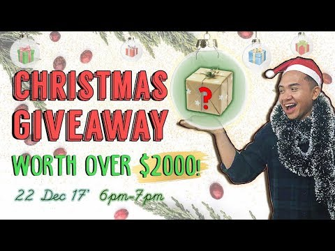 TSL X SONY EPIC CHRISTMAS GIVEAWAY (LIVE) | TSL Special