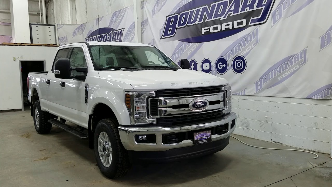 Ford Super Duty >> 2018 Ford F-350 SuperDuty XLT W/ 6.2L V8 Gas Engine, 4WD, 6 Passenger Overview | Boundary Ford ...