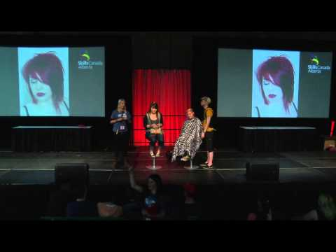Centre Stage 2015  Hairstyling Demonstration