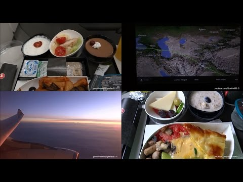 Turkish Airlines A330 - Istanbul to Bangkok ECONOMY FULL FLIGHT REPORT
